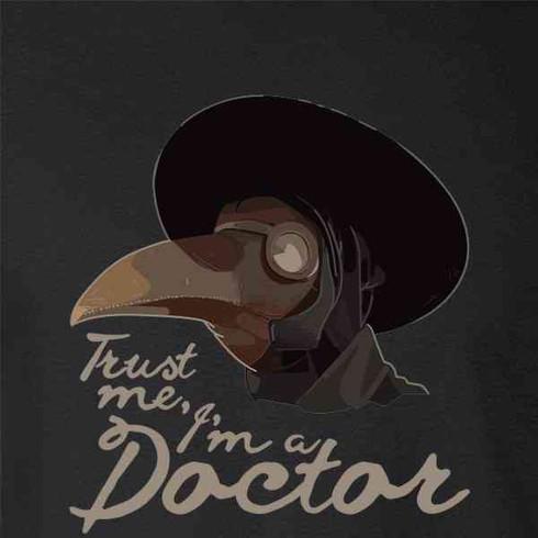 Plague Doctor Trust Me Im A Doctor T-Shirt Funny Vintage Gift Men Women