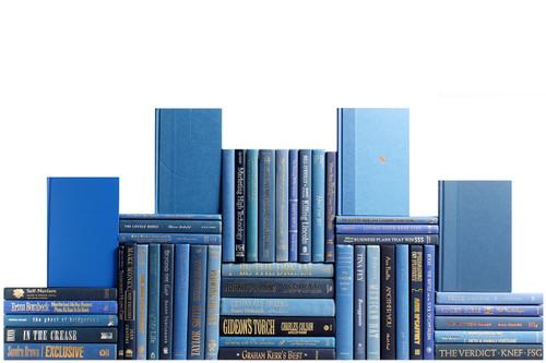 Modern Denim Book Wall, S/50