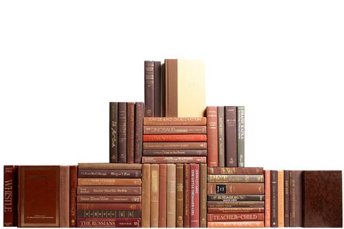 Modern Chocolate Book Wall, S/50