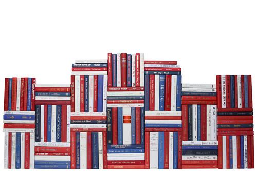 Modern Americana Book Wall, S/150