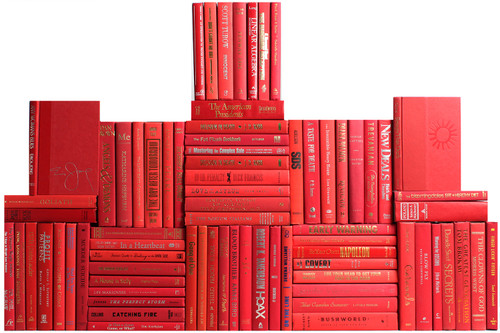 Modern Orchard Book Wall, S/75