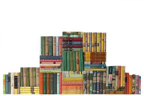 Curated Vintage Children Classics Library, S/100