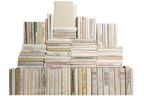 Modern Beach Book Wall, S/100