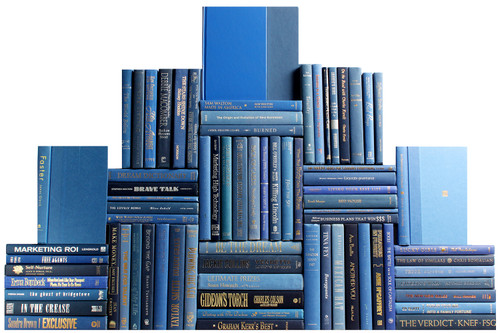 Modern Denim Book Wall, S/75