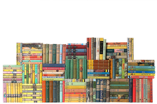Curated Vintage Children Classics Library, S/150