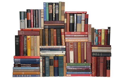 Curated Vintage World History Library, S/100