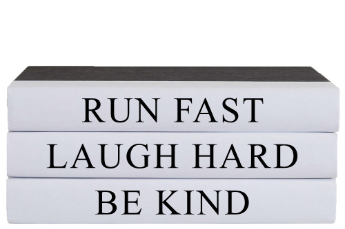 Run Fast Quote Book Stack, S/3