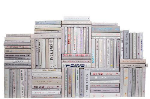 Modern Marble Book Wall, S/100