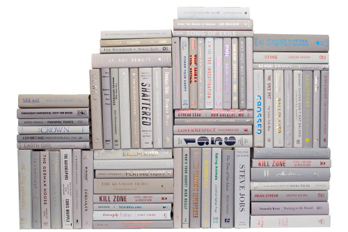 Modern Marble Book Wall, S/75