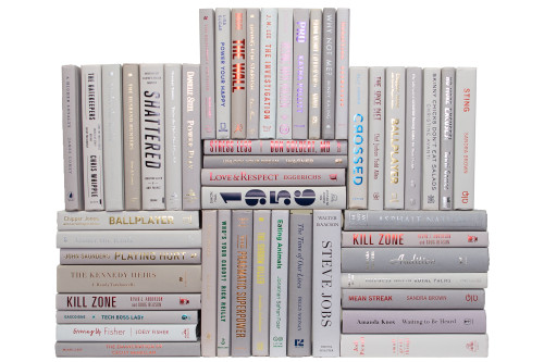 Modern Marble Book Wall, S/50