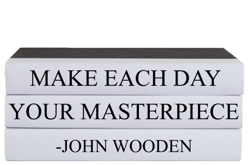 Masterpiece Quote Book Stack, S/3