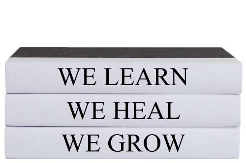 We Heal Quote Book Stack, S/3