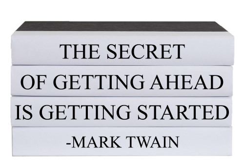 Getting Started Quote Book Stack, S/4