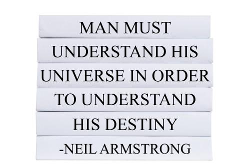 Understand His Destiny Quote Book Stack, S/5