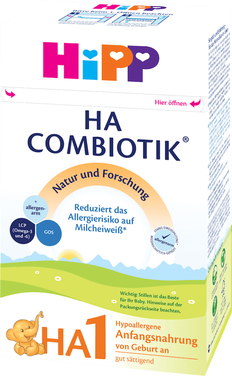 Hypoallergenic (HA) Stage 1 Combiotic Infant Milk Formula (500g) - German  Version