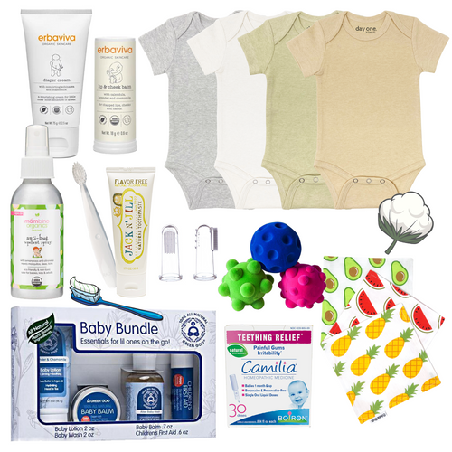 Collection of our favorite items suitable for babies from Newborn up to 12 months