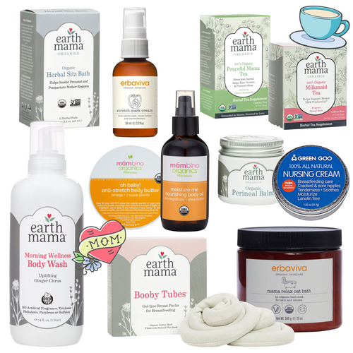 Collection of popular mommy care. Suitable for before and after pregnancy.