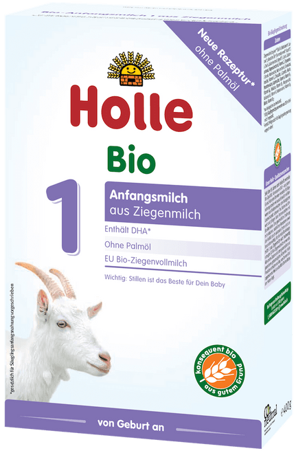 Holle Goat Stage 1 Organic (Bio) Infant Milk Formula (400g)
