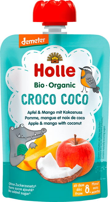 Holle Apple & Mango with Coconut