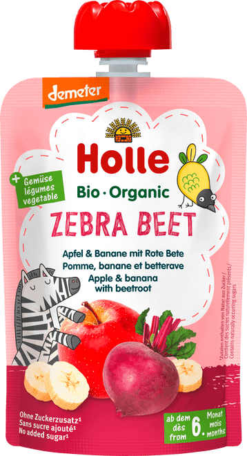 Holle Apple & Banana with Beetroot