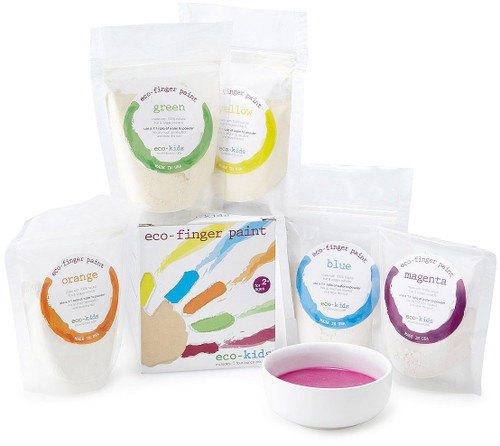 5 Pack Eco-Finger Paint