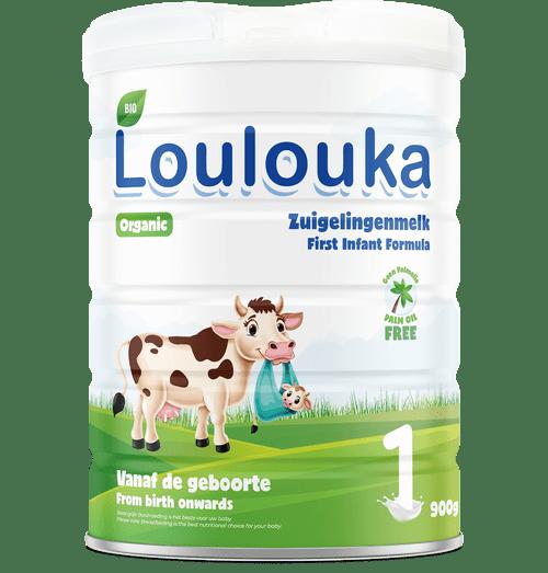 Loulouka Stage 1 Organic (Bio) Infant Milk Formula (900g) Tin