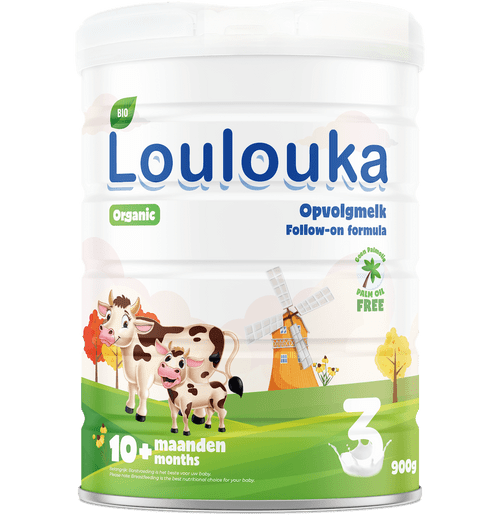 Loulouka Stage 3 Organic (Bio) Infant Milk Formula (900g) Tin