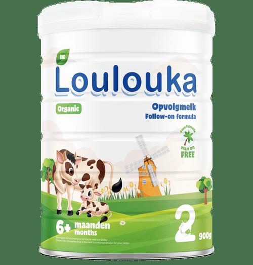 Loulouka Stage 2 Organic (Bio) Infant Milk Formula (900g) Tin