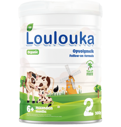 Loulouka Stage 2 Organic (Bio) Infant Milk Formula (900g) Tin