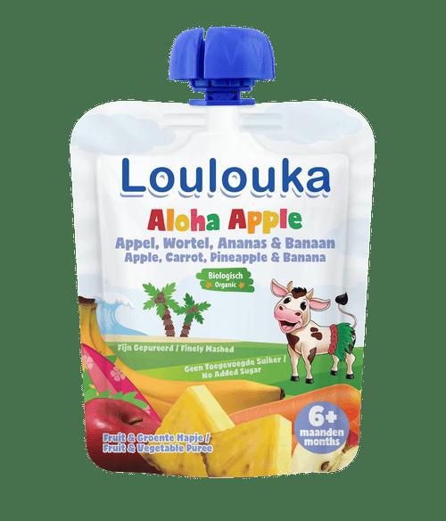 Loulouka Puree with Apple, Carrot, Pineapple & Banana