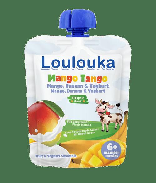 Loulouka Puree with Mango, Banana & Yogurt