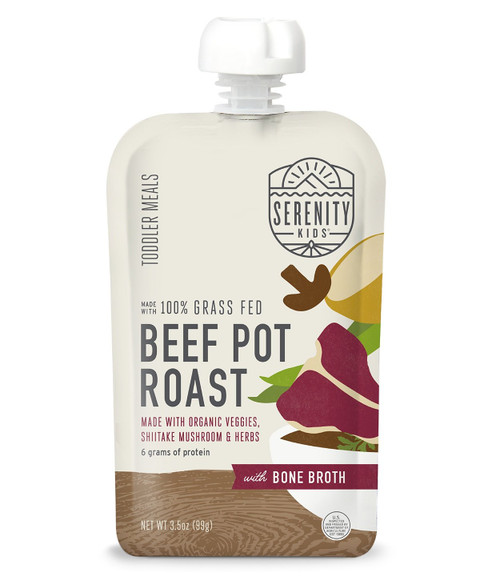 Beef Pot Roast puree