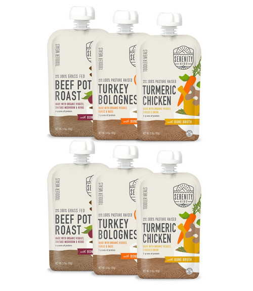 6 Pack - Bone Broth Variety pack