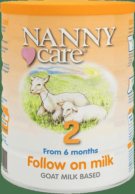 Nanny Care Stage 2 Follow-on Goat Milk Formula (900g)
