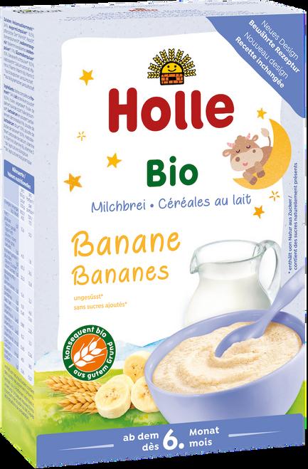 Holle Banana Organic Milk Porridge Cereal