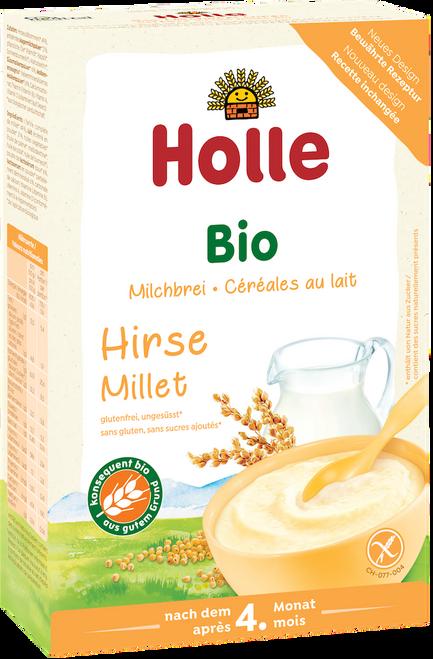 Holle Millet Organic Milk Porridge Cereal