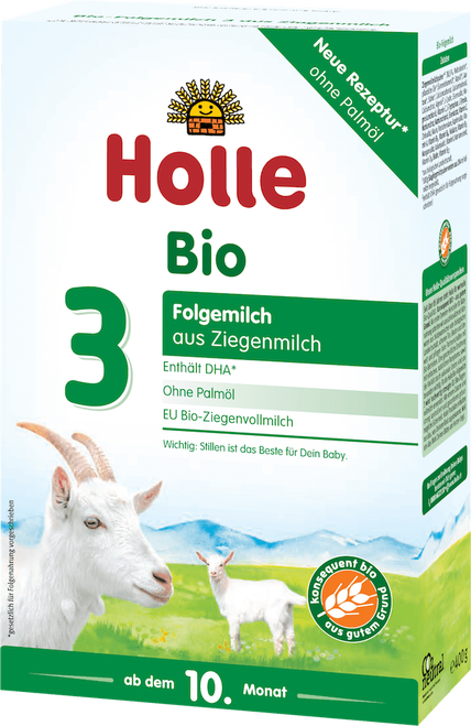 Holle Goat Stage 3 Organic (Bio) Baby Milk Formula (400g)