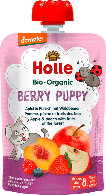Holle Apple & Peach with Fruits of the Forest