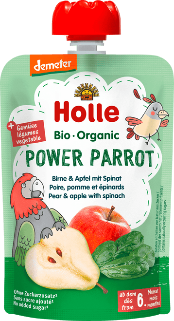 Holle Pear & Apple with Spinach