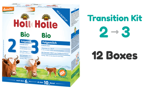 Transition Kit: Holle Cow stage 2 and stage 3