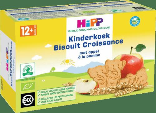 Organic (Bio) Baby Biscuits (Kinderkoek) with Apple - Dutch Version (150g)