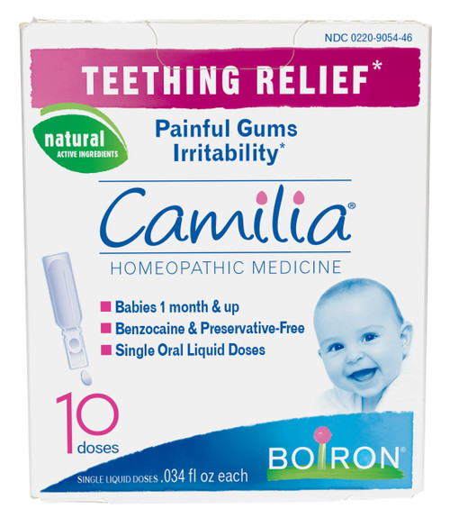 Camilia Teething Relief Homeopathic Medicine - 10 Doses