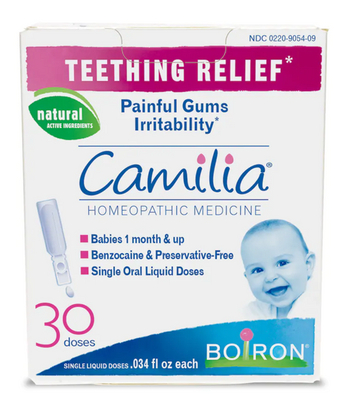 Camilia Teething Relief Homeopathic Medicine - 30 Doses