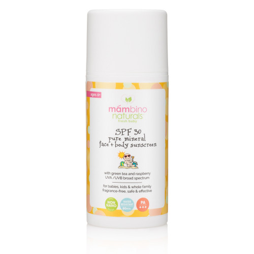 Pure Mineral Face & Body Sunscreen