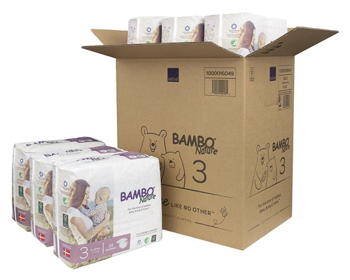 Box of Bambo Diapers 3