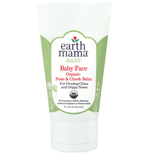 Nose and cheek balm.