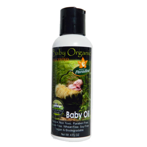 Organic Baby Oil, unscented