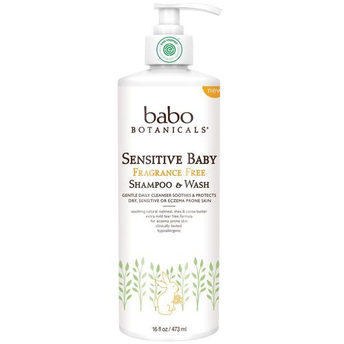 Shampoo & Wash - Fragrance Free