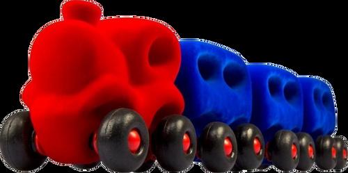 Red and Blue Choo-Choo Train Set