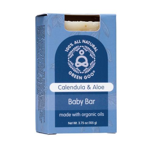 Calendula and Aloe baby soap bar